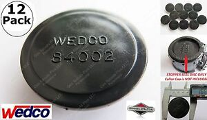 12 New Wedco Stoppers Discs 84002 Genuine Oem Briggs Stratton Gas Can Jug Parts