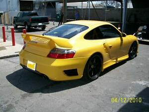 Porsche 996 Turbo Gt Rear Bumper Spoiler Tail Skirts 2001 To 2005 Coupe N Cab