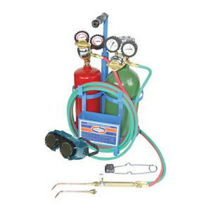 Ez flo 42228 Uniweld Oxyacetylene Welding And Brazing Kit Without Tanks
