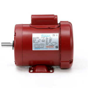 1 2 Hp 1725 Rpm 56 Frame 115 230v Leeson Electric Motor new free Shipping