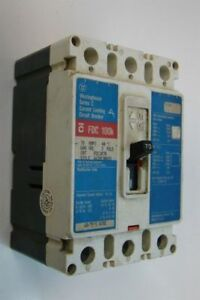 Westinghouse Current Limiting Circuit Breaker 70a 600vac Fdc3070