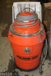 Pullman White Holt Heavy Duty 2 Hp Vacuum System