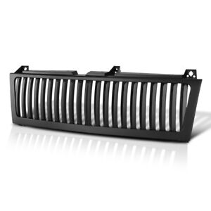 Chevy 99 02 Silverado Truck Range Rover Style Black Front Bumper Grill Assembly