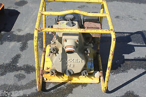 Wacker Pt2 Heavy Duty Honda Gas Powered Portable Water Pump