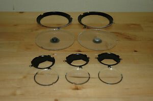 1967 68 Mercury Cougar Gauge Lenses Xr7 Cluster Lens Parts Lot