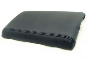 Center Console Armrest Real Leather Cover Fits Nissan 300zx Z32 90 96 Black