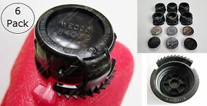 12 pcs Total 6 Screw Cap Collars 84004 Cr 6 Stoppers 84002 Gas Can Wedco Briggs