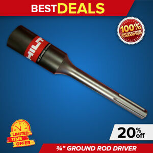 Hilti 10 3 4 Ground Driver Rod Brand New Heavy Duty L k Fast Shipping