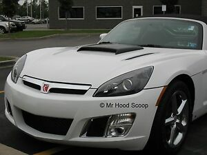 Hood Scoop For Pontiac Solstice Saturn Sky By Mrhoodscoop Unpainted Hs005
