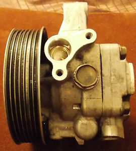 2002 04 Acura Rsx Power Steering Pump 56110 pnd 003 for Parts Or Repair Only