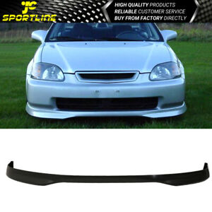 Fits 96 98 Honda Civic Type R Polypropylene Front Bumper Lip Spoiler