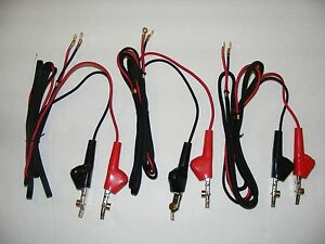 Butt Set Test Set Replacement Cords Harris Fluke Bed Of Nails Phone Telecom Ts22