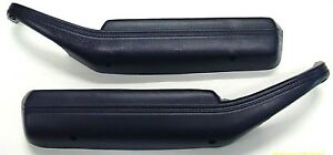 1977 1981 Trans Am Arm Rest Door Pull Strap Set Black Firebird Camaro