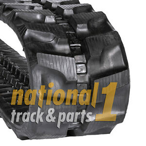 Bobcat 435zts Rubber Track Track Size 400x72 5x74 National 1 Tracks Parts