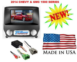 2014 Chevy Gmc Truck Double 2 Din Car Stereo Radio Installation Dash Kit