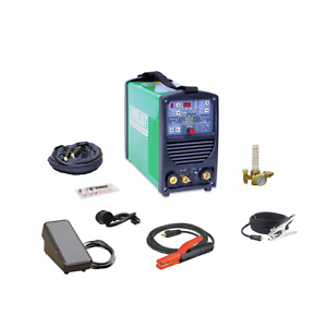 Poweri tig200t Digital Memory 200amp Dc Tig Pulse Welder 2amp Low Start Everlast
