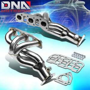 Stainless Steel 6 2 1 Header For 03 06 350z G35 Fairlady Z 3 5l Exhaust Manifold