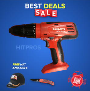Hilti Sfh 151 a 15 6v Nimh Cordless Hammer Drill Preowned Fast Shipping