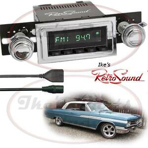 Retrosound 63 70 Buick Wildcat Hermosa b Radio bluetooth rds usb 3 5mm Aux in