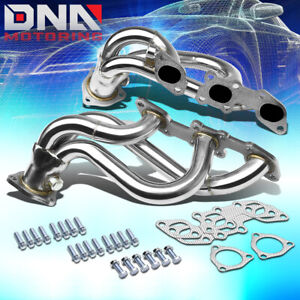 Stainless Steel Header For 90 96 300zx Fairlady Z V6 Non Turbo Exhaust Manifold