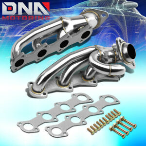 Stainless Steel Header For 04 08 Ford F150 lobo 4 6l V8 Pickup Exhaust manifold