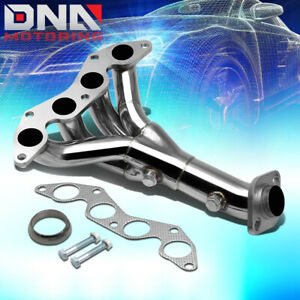 Stainless Steel 4 1 Header For 01 05 Civic Dx Lx D17 1 7l Em2 Exhaust Manifold