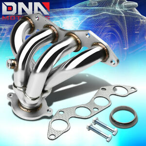 Stainless Steel 4 1 Header For 01 05 Civic Ex D17 1 7l Em Es Exhaust Manifold