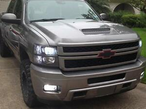 2007 08 09 10 Chevy Silverado Hd Ram Air Heat Extractor Hood 2500 3500 Rk Sport