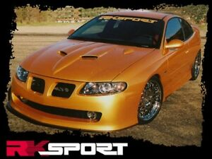 Pontiac Gto Ram Air Hood By Rk Sport 09011100 Fully Functional 2004 2005 2006