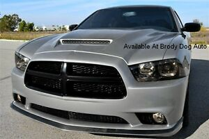 2011 2012 2013 2014 Dodge Charger Functional Ram Air Hood By Rk Sport 24013000