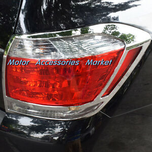 New Chrome Rear Light Lamp Cover Trim For Toyota Highlander 2011 2013