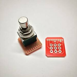 50pcs 3pdt Stomp Switch Wiring Pcb Guitar Effect Pedal Worldwde Shipping