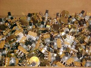 Potentiometers Cts Pots New Approx 395 Units Free Shipping Wow