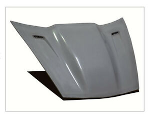Chevy Corvette Violator Supercharger Hood Fits All C6 And Z06 Rk Sport 16011010