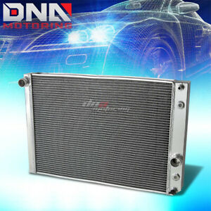 91 96 Chevy Corvette 5 7 L98 Lt1 V8 3 Row Tri Core Full Aluminum Racing Radiator