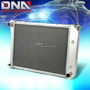 For 1971 1988 Chevy Small Block Camaro Sbc L6 V6 3 Row Full Aluminum Radiator