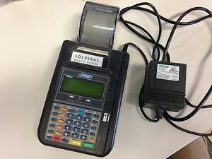 Hypercom Model T7plus Credit Card Terminal Free Shipping