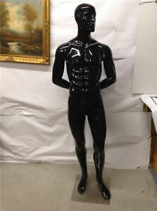 Male Mannequin Life Style Form Display Black