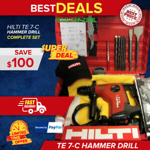 Hilti Te 7 c Hammer Drill Preowned In Great Condition Free Bits Fast Shipping