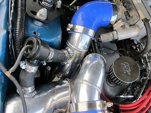 Cxracing 4 Supercharger Intake Pipe Filter For 87 93 5 0 Mustang Vortech V3 Sc