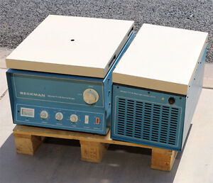 Beckman Tj 6rs Tj r Tabletop Refrigerated Centrifuge With Rotor