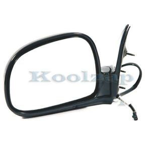 Tyc 94 97 Chevy S10 Pickup Truck Power Black Rear View Mirror Left Driver Side