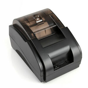 Usb Mini 58mm Pos Printer 384 Line High Speed Thermal Dot Receipt Roll Paper Set