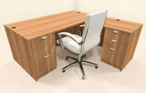 4pc L Shaped Modern Executive Office Desk ot sul l5