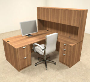 5pc L Shaped Modern Executive Office Desk ot sul l9