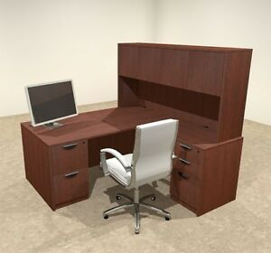 5pc L Shaped Modern Executive Office Desk ot sul l10