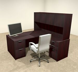 5pc L Shaped Modern Executive Office Desk ot sul l11
