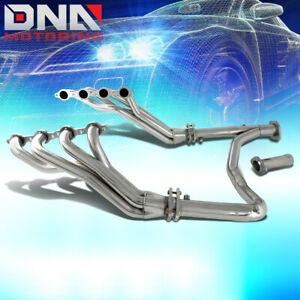 Stainless Steel Long Tube Header y pipe For Chevy gmc Gmt900 V8 Exhaust manifold