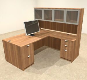 5pc L Shaped Modern Executive Office Desk ot sul l29