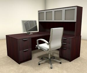 5pc L Shaped Modern Executive Office Desk ot sul l31